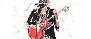 Exposition Lydiane Ferreri - Live drawing Dessin Sarzeau