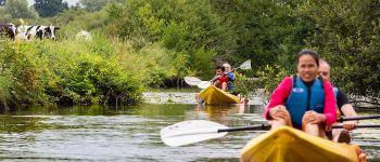 Balade en kayak au soleil couchant Isigny-sur-Mer