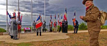 Cérémonie en hommage aux soldats Acadiens / Festival \La semaine acadienne 2021\ Bernières-sur-Mer