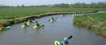 Balade en kayak dans les marais du Bessin Trévières
