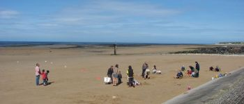 Concours de châteaux de sable Grandcamp-Maisy