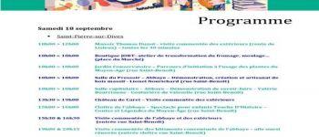 Journées Européennes du Patrimoine à Saint-Pierre-en-Auge Saint-Pierre-en-Auge