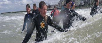 Marche aquatique côtière Grandcamp-Maisy