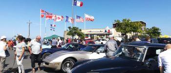 Rassemblement de voitures anciennes Courseulles-sur-Mer