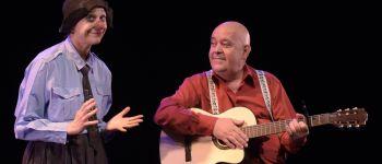 Emma la clow & Gérard Morel qui l'accompagne Argentan