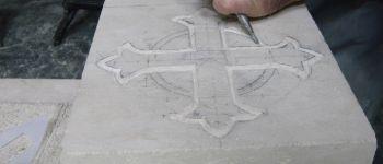 Atelier taille de pierres et sculpture Hambye