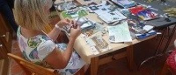Collages poétiques : visite-atelier pour adultes La Hague