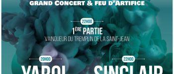 « Lame de son » grand concert : Sinclair, Yarol et feu d'artifice Trouville-sur-Mer