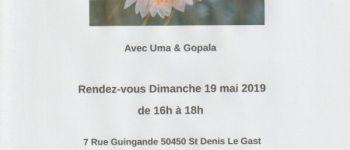Satsang : chants et mantras indiens Saint-Denis-le-Gast