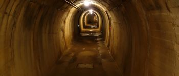 Visite de la galerie souterraine du Mont Canisy Benerville-sur-Mer