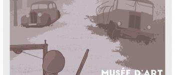 Visite flash de l'exposition sur la Libération du sud Manche Avranches