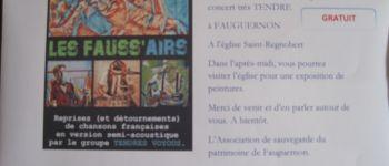 Les Tendres Voyous vous accueillent à Fauguernon le samedi 18 mai Fauguernon