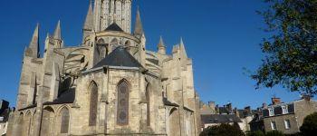 Visite de la cathédrale avec accès aux parties hautes Coutances