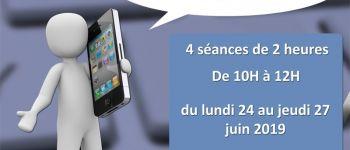 Initiation aux tablettes et smartphones Verneuil-sur-Avre