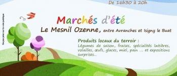 Marché d'été au Mesnil-Ozenne Le Mesnil-Ozenne