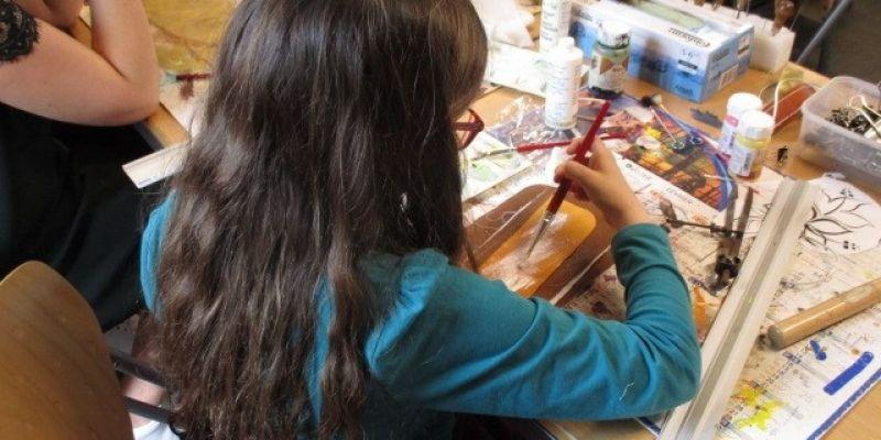 Atelier des petits : cuir