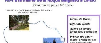 Randonnée, pique-nique champêtre La Roque-Baignard