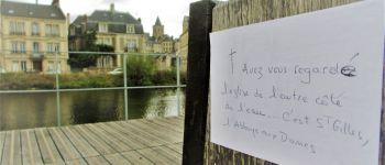 Balade urbaine : Les petits mots de la presqu\île Caen