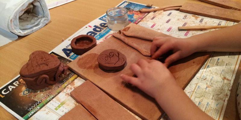 Atelier des petits : poterie