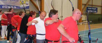 Les archers de la Compagnie Saint-Georges de Merville Merville-Franceville-Plage