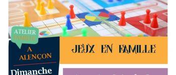 Animation « Jeux en famille » Alençon