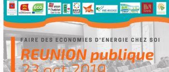 Réunion publique sur l'énergie Douvres-la-Délivrande