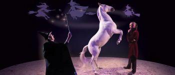 « Le manège des sorcières », spectacle équestre familial Le Pin-au-Haras