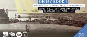 Visite guidée de l\exposition « Oh my Book ! » Avranches
