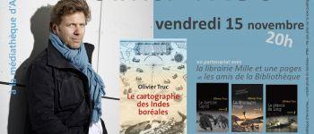 Rencontre avec Olivier Truc, auteur de « Le cartographe des Indes » Avranches