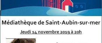 Rencontre avec Olivier Truc, journaliste et écrivain Saint-Aubin-sur-Mer