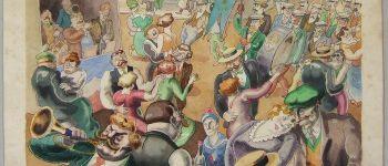 Exposition de gravures, dessins et tableaux sur le thèmes du spectacle et des animations Coutances