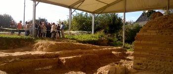 Visite guidée du chantier de fouille du temple gallo-romain Le Vieil-Évreux