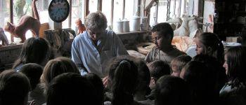 Levez les yeux ! visite guidée de la poterie du mesnil de Bavent Bavent
