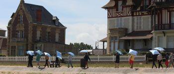 Balade sonore sous ombrelle Lion-sur-Mer
