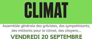 Grève mondiale pour le Climat Saint-Valery-en-Caux
