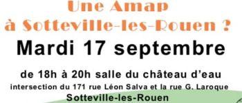Réunion d'information pour la création d'une AMAP à Sotteville-lès-Rouen Sotteville-lès-Rouen