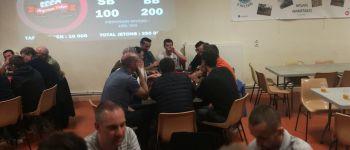Repas suivi d'un tournoi de poker Feuguerolles