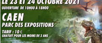 L\exposition - L\univers des dinosaures Caen